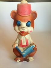 Reliance Corp. 1960's Bear Squicky Toy- Collector Pcs
