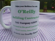 Fawlty Towers Hotel O'Reilly Builders mug 11oz original design (new)