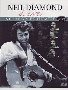 NEIL DIAMOND Live At The Greek Theatre 1976  DVD - Limited Stock - Deleted DVD