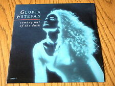 "GLORIA ESTEFAN - COMING OUT OF THE DARK   7"" VINYL PS"