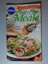 PILLSBURY Cookbook Booklet FUSS FREE MEALS  2002 #257