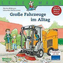 LESEMAUS, Band 101: Große Fahrzeuge im Alltag von... | Buch | Zustand akzeptabel