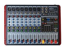 PA MISCHPULT LIVE- MIXER 8 KANAL DJ STUDIOMISCHPULT HALL ECHO USB b- ware