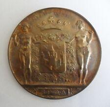 Bronzen medaille - Antwerpen 1933 - bestendig festival