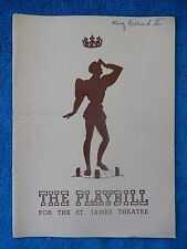 King Richard II - St. James Theatre Playbill - April 15th, 1940 - Maurice Evans