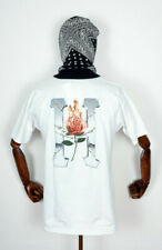 HUF worldwide skateboard t-shirt té Ember Rose Classic h White en m