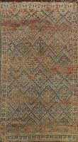 Antique Trellis Moroccan Oriental Home Decor Area Rug Hand-Knotted Wool 7x11 ft