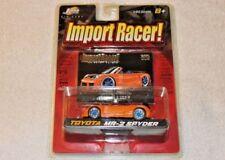 Jada Toys Import Racer! 1:64 2003 Toyota MR2 Spyder MRS W30 Roja XS Endless RARE