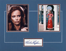 JAMES BOND-MAGDA-OCTOPUSSY- SIGNED CARD & PICT DISPLAY by KRISTINA WAYBORN-AFTAL