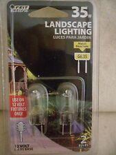 12V G6.35 Base 35 W  Landscape  Light Bulb Feit