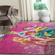Disney Princess Family Area Rugs Living Room Carpet