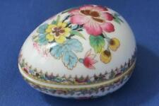 Coalport Miniature Ming Rose Egg 4cms long