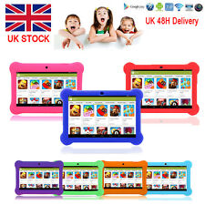 """7"""" INCH KIDS ANDROID 4.4 TABLET PC QUAD CORE WIFI Camera Xmas CHILD CHILDREN UK"""