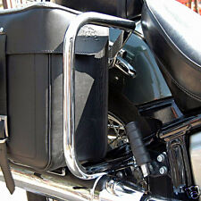 YAMAHA XVS650 650 DRAG STAR V-STAR CHROME REAR SADDLEBAG GUARD CRASH BARS