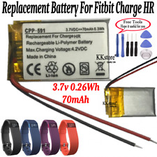 Charge Hr Smart Fitness Watch New Replacement 70mAh 0.26Wh Battery for Fitbit