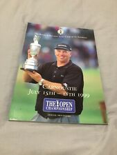 1999 THE OPEN GOLF CHAMPIONSHIP 128TH OFFICIAL PROGRAMME @ CARNOUSTIE VGC