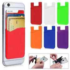 3M Fashion Adhesive Sticker Back Cover Card Holder Case Pouch For Cell Phone