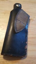 old leather gun holster