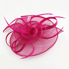 cf7fa1026de46 Fascinator Headband Clip Feathers Hat Wedding Race Royal Ascot Alice Head  Piece