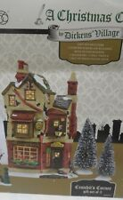 NEW Dept 56 DICKENS VILLAGE Bob & Tiny Tim CRATCHIT'S CORNER - 5 Pc SET, Scrooge