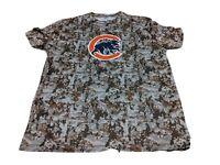 SGA Chicago Cubs May 26,2019 NWOT sz XL camo short sleeve shirt