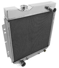 V8 Conversion Aluminum Radiator, 1964 1965 1966 Ranchero 2 Row DR Radiator