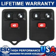 2 Keyless Entry Remote Control Key Fob Clicker Transmitter Replacement For F-150