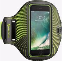 Griffin Flashing LED Light running armband fits most smartphones, iPhone 8
