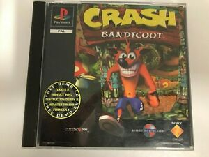Crash Bandicoot & Demo Disc For The Sony PlayStation 1 Tested #69