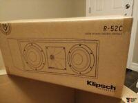Klipsch R-52C Center Speaker Brand New