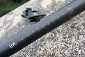 WCS CARBON LINK FLEXLOGIC SEATPOST, 27.2x350 mm, 150 grams