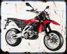 Aprilia SXV 550 08 1 A4 metal sign moto Vintage Aged