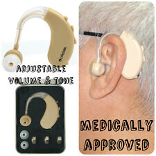 Lifemax Behind the Ear Hearing Amplifier Aid Small Device - Medically Approved