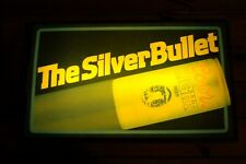 Vintage Coors Light, The Silver Bullet Lighted Sign