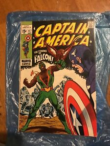 Captain America (1969)  #117 first appearance of The Falcon