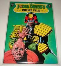 2000ad JUDGE DREDD'S CRIME FILE Volume 3 Graphic Novel (1989) VFN/NM