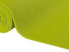 2X EZ TRADING - Tapis de Yoga Vert Citron 183 x 61 x 6 mm  *NEUF*