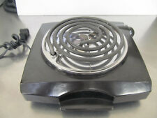 Single Burner Electric Stove Portable Travel Compact Small Hot Plate Dorm