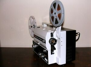 Eumig Mark S 810 D  Standard 8mm & Super 8 SOUND Movie Projector ~ SERVICED~