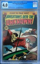 Adventures into the Unknown #31 CGC 4.0 (1952) -- Ken Bald flying vampire cover