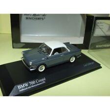 BMW 700 COUPE 1960 Gris et blanc MINICHAMPS 1:43