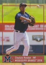 2018 Mississippi Braves Cleuluis Rondon RC Rookie Atlanta VZ