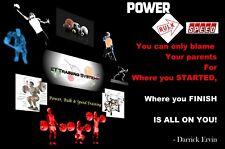 An EXTRAORDINARY Workout for All Sports, Power, Bulk & Speed... by Darrick Ervin