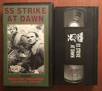 SS Strike At Dawn (VHS, 1958) Something Weird Video ~ OOP RARE HTF  ~ Yugoslavia