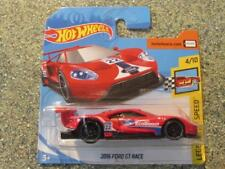 Hot Wheels 2018 #195/365 2016 FORD GT RACE Red HW Legends of speed