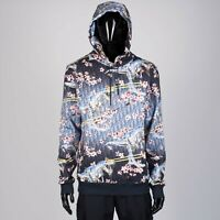DIOR x SORAYAMA 1450$ Hooded Sweatshirt In Dior Oblique & Dinosaur Print