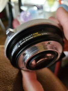 Metabones Speed Booster Canon EF-FX Fujifilm Fuji Focal Reducer 0.71X - READ!