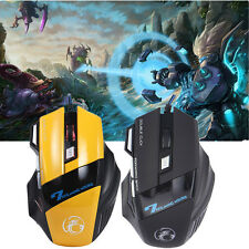 X7 Professional 7 Button Optical USB Wired Gaming Mouse 3200DPI LED Cable Mouse
