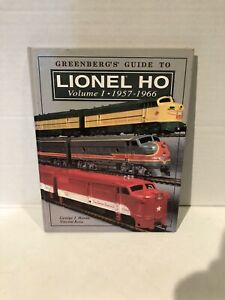 Lionel HO Greenberg's Guide Vol I,1957-1966 by George Horan/Vincent Rosa