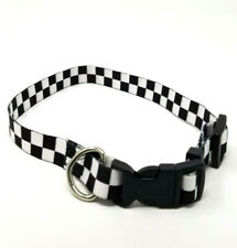 Vans Family Exclusive Black/White Checkerboard Dog Collar